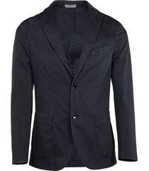 boglioli stitched detail blazer