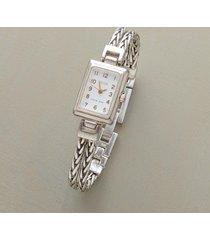 sterling chain bracelet watch