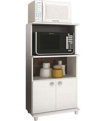 balcão para micro-ondas bl-3301 branco tecno mobili