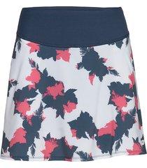 pwrshape floral skirt kort kjol multi/mönstrad puma golf