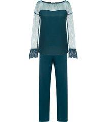 pyjama's / nachthemden selmark lorena indoor pyjama-outfit