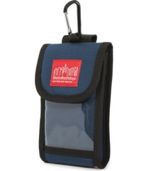 manhattan portage large smartphone case with clear pocket