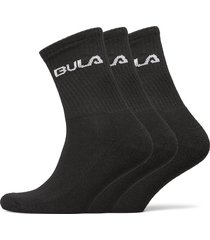 classic sock 3pk underwear socks regular socks svart bula