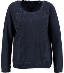 garcia donkerblauwe sweater