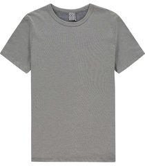 t-shirt micro jacq ecru