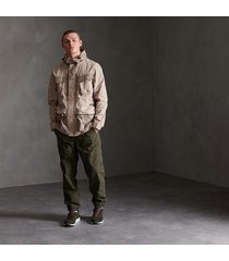 chaqueta con capucha casual para hombre dress code 4 pocket superdry