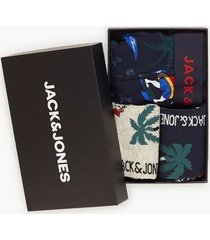 jack & jones jacorg giftbox boxershorts mörk blå