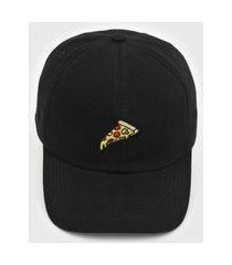 boné kanui dad cap pizza preto