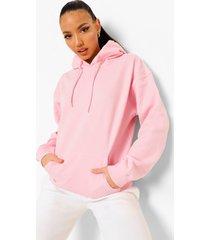 tall oversized effen hoodie, light pink