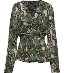 isabel blouse blouse lange mouwen groen twist & tango