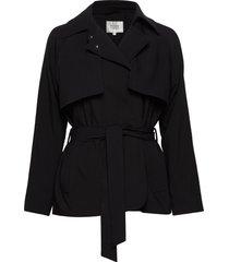 silvia jacket sommarjacka tunn jacka svart second female