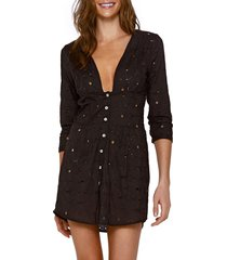 women's vix swimwear ana chemise cover-up