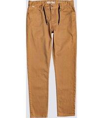 pantalon e02 color twill beige hombre element element