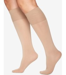 berkshire women's plus size comfy cuff opaque graduated compression trouser sock 5203