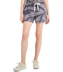 style & co petite tie-dyed shorts, created for macy's
