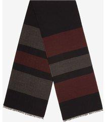 stripe scarf blue 1