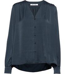 jetta shirt 12770 blouse lange mouwen blauw samsøe samsøe