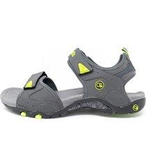 sandalias de hombre o.p. borabora- gris