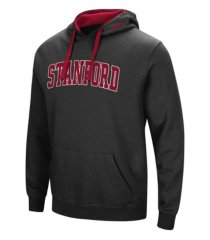 colosseum stanford cardinal men's arch logo hoodie