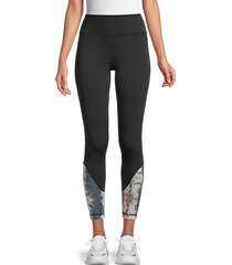tessa paneled stretch leggings
