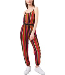 riley & rae vibrantly striped jumpsuit, created for macy's