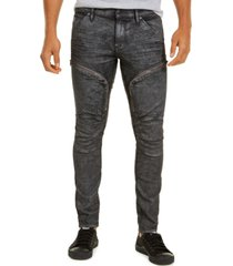 g-star raw men's air defence skinny jeans, created for macy's