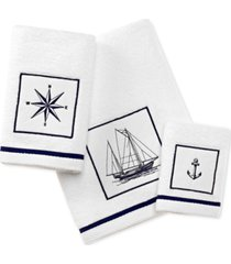 city scene cape island cotton embroidered applique fingertip towel bedding