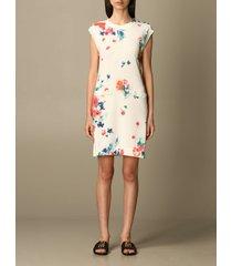 boutique moschino dress boutique moschino floral print cotton sheath dress