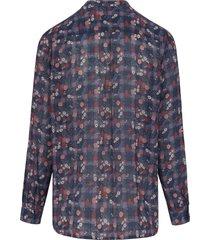 blouse van peter hahn multicolour