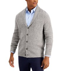 tasso elba men's cashmere cardigan, created for macy's