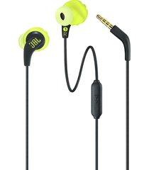 audifonos jbl endurance run cable 3.5mm deporte - amarillo