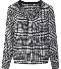 blouse zonder sluiting lange mouwen van basler zwart