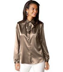 blouse amy vermont goudkleur