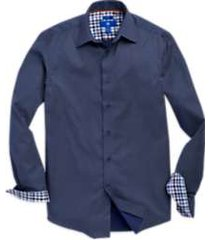 egara navy diamond dotted sport shirt