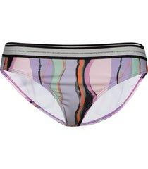 tie dye elastic bikini bottom bikinitrosa multi/mönstrad becksöndergaard