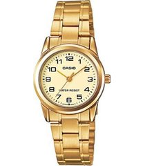 reloj casio  ltp-v001g-9b mujer