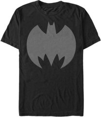 fifth sun dc men's batman retro bat logo short sleeve t-shirt
