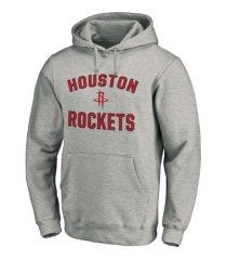 majestic houston rockets men's halpert heart and soul hoodie
