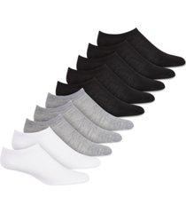 hue women's 10 pack no-show sport socks