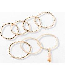 bracciali (set 7 pezzi) (oro) - bpc bonprix collection
