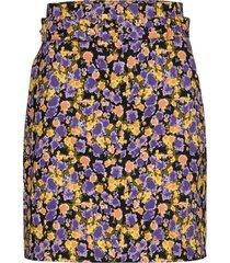 cameagz skirt knälång kjol multi/mönstrad gestuz