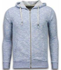 sweater enos casual vest - melange zen fleece -