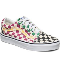 ua old skool låga sneakers multi/mönstrad vans