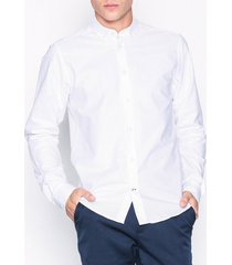 tailored originals shirt - new london skjortor white