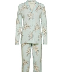 pyjama long pyjama groen schiesser