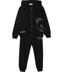 black teddy suit
