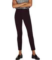 pantalón bielástico con trabillas negro esprit