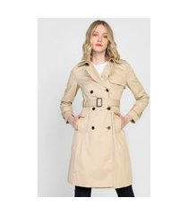 casaco trench coat banana republic botões bege