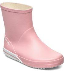 basic mid regnstövlar skor rosa tretorn