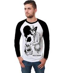 camiseta ramavi raglan musical experiencie manga longa